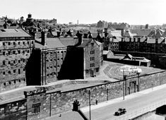 Duke Street Prison, Glasgow. We would walk past those high walls and I was told that criminals were hanged there!  Susan Newall, the last woman to be hanged was executed on October 10, 1923. The Prison was demolished 1958 to make way for Ladywell housing scheme.