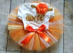 Hey, I found this really awesome Etsy listing at https://www.etsy.com/listing/461380544/fall-1st-birthday-girl-outfit
