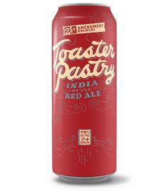 """Pop-Tart Beer is Here! 21st Amendment Brewery Unwraps """"Toaster Pastry"""""""