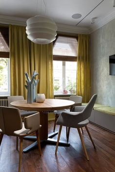 nice A Flat in Kiev That Focuses on Natural Materials