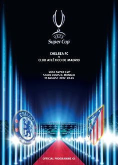 UEFA Super Cup Programme 2012