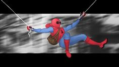 Spider Man Homecoming by AidanCousland