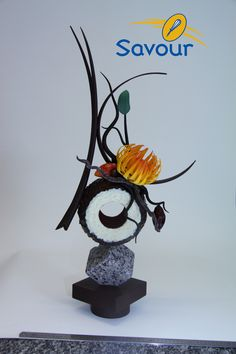 An awesome chocolate showpiece!