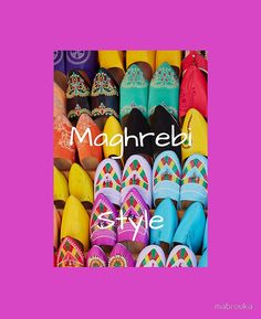 Shoes Maghrebi Style