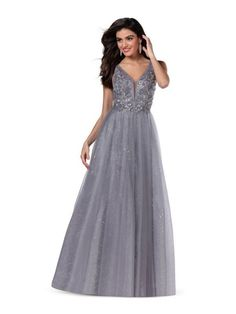 In store now Colour: Grey Size: 16 A Line Prom Dresses, Tulle Prom Dress, Formal Dresses, Mori Lee Prom, Blush Prom, Dress First, Size 16, Colour, Bridal