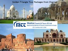 Golden Triangle Tour Packages, Golden Triangle is the most popular #tourist circuit in India. Madras #Travels & Tours offers affordable Golden Triangle tour packages from #Chennai at the best prices.