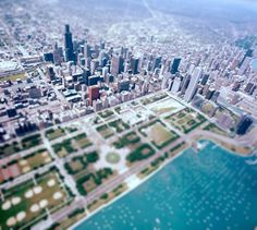 All the information you need to plan the ultimate Chicago wedding. PLUS: Our fave wedding vendors in the windy city, from photographers to planners. Tilt Shift Photography, Types Of Photography, Tilt Shift Photos, Toy House, Chicago Skyline, City Photo, Beautiful Places, World, Cities