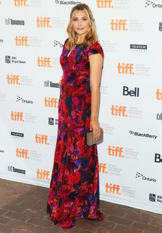 "Elizabeth Olsen wearing Erdem at the ""Toronto International Film Festival"" for her movie ""Martha Marcy May Marlene"" sept 11th 2011......."