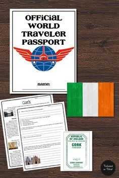 Ireland Comprehension Passage and Questions: Your third graders will love this travel themed close reading passage with questions that satisfy 3rd Grade Common Core Standards.