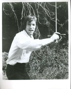 Richard Chamberlain The Man In The Iron Mask playing the good brother opposite Louie XIV.