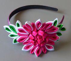 Tiara com flor diferente Passo a Passo