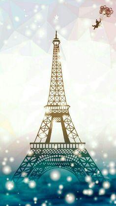 Paris glitter in blue Paris Wallpaper Iphone, Iphone Background Wallpaper, Of Wallpaper, Torre Eiffel Paris, Paris Eiffel Tower, Beautiful Paris, I Love Paris, Paris Pictures, Paris Art