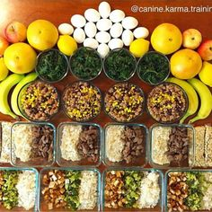 What a lovely Meal Prep symmetrical visual right?! Neat ...  What a lovely Meal Prep symmetrical visual right?! Neat  Organized  Portions by: @canine.karma.training  #mealprep #mealplan #mealtime #foodporn #MealPrepDaily #organized #motivate #mealprepster #mealprepping #mealpreps #foodprep #fitfam #fitfood #foodgasm #foodie #foodplan #inspire #gameplan #preparation #succeed #masterpiece #symmetry #loveit #nutrition #noms http://ift.tt/1R9ZcRP  mealprep mealprepster mealplan foodprep…