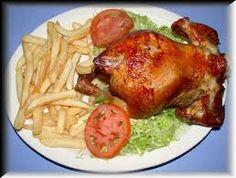 Ingredientes :      1 pollo entero de 1,200 k (2 lb 10 oz)    1/2 k de sal de cocina    4 cucharaditas de cerveza negra    1 cucharadit...