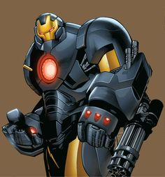 Iron Man Armor Model 43 (Heavy Duty Armor) by Greg Land