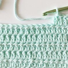 This extended half double crochet stitch is a simple modification to regular HDC that adds some extra height to the… The post Extended Half Double Crochet appeared first on Daisy Farm Crafts. Hdc Crochet, Crotchet Stitches, Different Crochet Stitches, Crochet Stitches For Blankets, Crochet Daisy, Crochet Geek, Single Crochet Stitch, Crochet Stitches Patterns, Baby Blanket Crochet