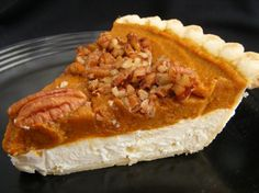 Pumpkin Cream Cheese Layer Pie from Food.com: #ultimatethanksgiving A ...