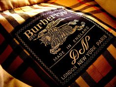 Burberry, vintage