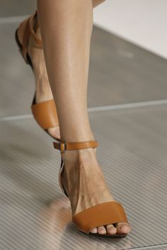 Could be the perfect sandal to dress up and down: Marni S/S 2013