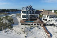 This Seagrove Beach vacation home is predicted to do $400K in rentals next year... and now is your chance to buy it!