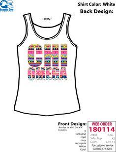 Chi Omega Spring Break Tank Sorority shirt