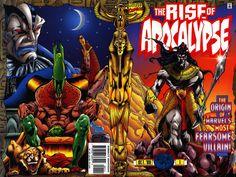 Rise of Apocalypse Vol 1 1 Wraparound cover by Adam Pollina.