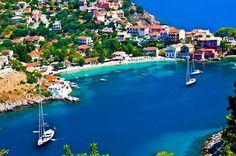 KEFALONIA ISLAND ASSOS GREECE.
