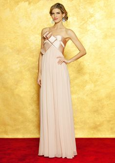 NOTTE BY MARCHESA Origami Bow Gown