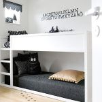 Great for when one of the children sharing a room is a toddler. The bottom bunk is on the ground so there is not much of a drop in case he falls.   Built-in Bunk Beds & Bunk Rooms | Handmade Charlotte