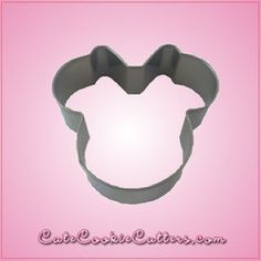 View Mini Minnie Mouse Cookie Cutter in detail