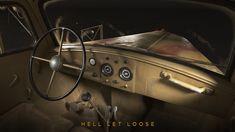ArtStation - Opel Blitz with camo - Hell Let Loose, Martin Ostrolucky