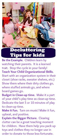 Control the chaos! Tips to get your kids organized and clutter-free.