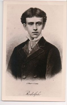 a very young Rudolf Crown Prince of Austria