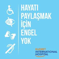 3 Aralık Dünya Engelliler Günü #kudretinternational #hastane #dunyaengellilergunu #saglik #EngelTanimayanlar #ankara #turkiye #turkey Ankara, Tech Companies, Company Logo, Calm, Logos, Logo