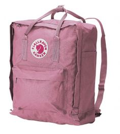 Fjällräven Kånken backbag. I have one in black, I LOVE it! They have so many coolcolors to chose from!