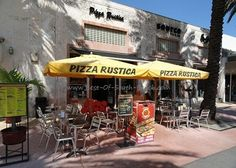 Pizza Rustica Miami Beach Lincoln Road