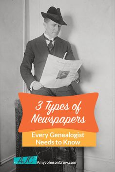Besides the regular hometown daily or weekly newspaper, genealogists should look at these three kinds of newspapers. Make more discoveries for your family history by expanding to use these in your genealogy research. Best Cousin Quotes, Proud Mom Quotes, Little Brother Quotes, Genealogy Humor, Genealogy Chart, Genealogy Research, African American Genealogy, Native American, Weekly Newspaper