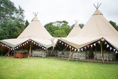 Blaire by Jenny Packham for a Glamour Meets Tipis and Bunting Style Celebration