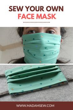 Need of the hour: A DIY Face Mask – we started working on a free pattern for you all as soon as we heard of a shortage of face masks in the community. This is something you can easily make for your loved ones but remember that these are not[. Sewing Patterns Free, Free Sewing, Free Pattern, Pattern Sewing, Diy Mask, Diy Face Mask, Homemade Face Masks, Sewing Hacks, Sewing Tutorials