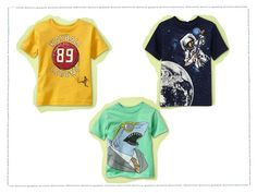 boys graphic tees for summer