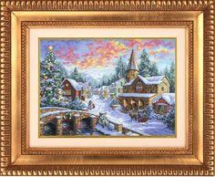 Merry Christmas: Christmas Landscape