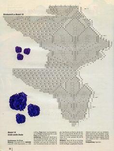 Scheme knitted tablecloths 15