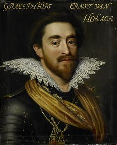 Philip Ernest, Count of Hohenlohe-Langenburg (1584–1628). Oil on panel ~ Workshop of Jan Antonisz. van Ravesteyn (circa 1572–1657) - rijksmuseum.nl