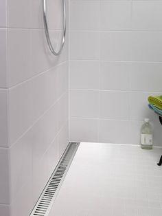 Purus Golvbrunn Line Sil Rib Tile Floor, Cool Photos, Bathroom, Inspiration, Design, Architects, Couture Sac, Washroom, Biblical Inspiration