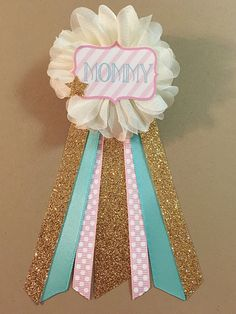 Twinkle Little Star Baby Shower Mommy-to-be Flower by afalasca