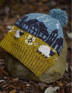 Lerwick Roofline by Plucky Knitter Design: a town around your head [Lerwick Roofline di Plucky Knitter Design: un paese sulla testa]