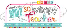Diary of a Not So Wimpy Teacher: Teaching Students to Write About Math