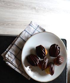Recette de madeleines au #chocolat très facile
