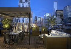 Now that's how you do outdoor living in the city!