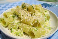 maccheroni con zucchine